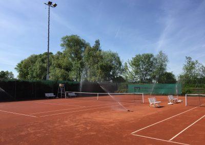 Tennisplatz Beregnung