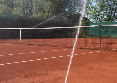 Nahaufnahme Tennisberegnung