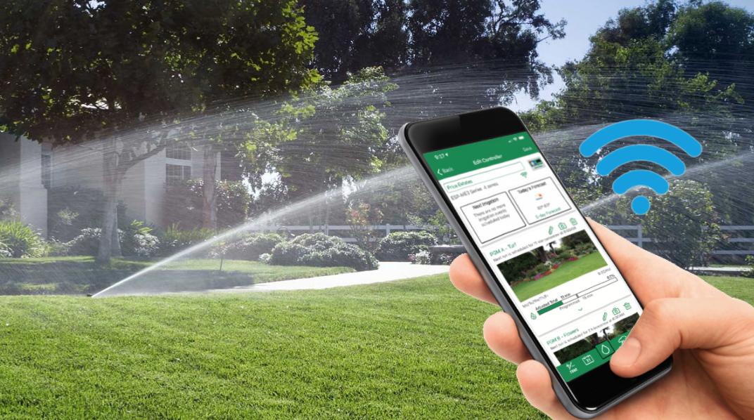Bewässerung App-Steuerung Smart Home